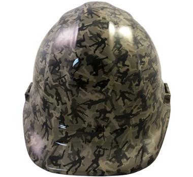 Army Men Khaki Hydro Dipped Hard Hats Cap Style