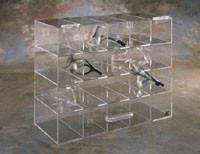 12 Unit Goggle Holder w/Door  Pic 1
