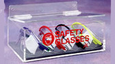 Safety Glass Holder NO LID  Pic 1