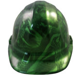 Venom Snake Green Hydro Dipped Hard Hats Cap Style