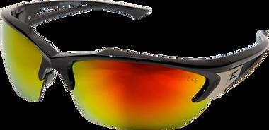Edge Khor Safety Glasses ~ Aqua Precision Red Mirror Lens