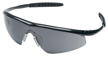 Crews Tremor Glasses ~ Onyx Frame ~ Smoke Lens