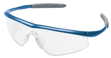 Crews Tremor Glasses ~ Indigo Blue Frame ~ Clear Lens