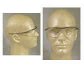 Crews Tremor Glasses ~ Taupe Frame ~ Clear Lens