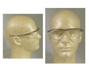 Crews Tremor Glasses ~ Taupe Frame ~ Clear Lens