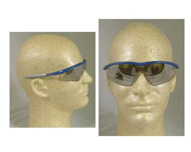 Crews Tremor Glasses ~ Indigo Blue Frame ~ Indoor/Outdoor Lens