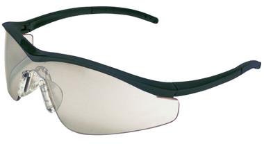 Crews Triwear Series Professional Grade ~ Onyx Frame With Black Cord ~ Indoor/Outdoor Mirror Anti-Fog Lens