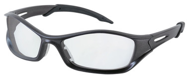Tribal Safety Glasses ~ Graphite Frame ~ Clear Anti-Fog Lens