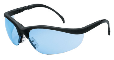 Crews Klondike Safety Glasses ~ Light Blue Lens