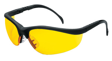 Crews Klondike Safety Glasses ~ Amber Lens