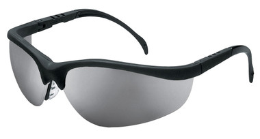Crews Klondike Safety Glasses ~ Silver Mirror Lens