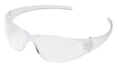 Crews Checkmate Safety Glasses ~ Coated Clear Lens