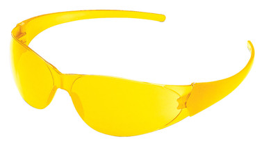 Crews Checkmate Safety Glasses ~ Amber Lens