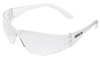 Crews Checklite Safety Glasses ~ Clear Lens