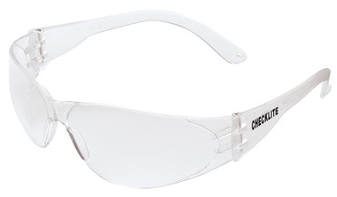 Crews Checklite Safety Glasses ~ Fog Free Clear Lens
