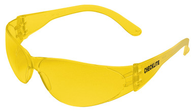 Crews Checklite Safety Glasses ~ Amber Lens