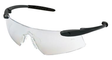 Crews Desperado Safety Glasses ~ Black Frame - Indoor Outdoor Lens