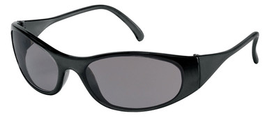 Frostbite Storm II Safety Glasses ~ Black Frame and Smoke Lens