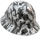 Urban Camo Hydro Dipped Hard Hats Full Brim Style