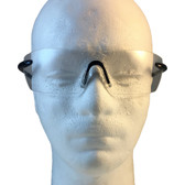 Smith and Wesson ~ Caliber Safety Glasses ~ Black Frame with Clear Anti-Fog Lens