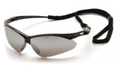 Pyramex Wildfire Safety Glasses ~ Silver Mirror Lens