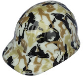 Bootie Girl Hydro Dipped GLOW IN THE DARK Hard Hats Cap Style with Ratchet Suspensions