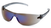 Pyramex Alair Safety Glasses ~ Blue Mirror Lens