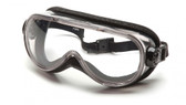 Pyramex Chemical Goggle ~ Anti Fog Lens and Foam Padding