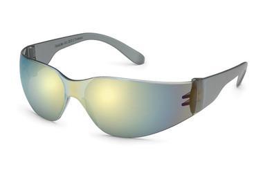 Gateway Starlite Safety Glasses ~ Gold Mirror Lens