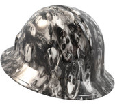 Real Zombie Hydro Dipped Hard Hats Full Brim Style