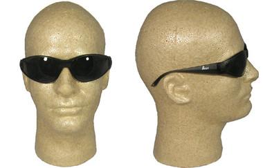 ERB Boas Wraparounds ~ Safety Glasses ~ Smoke Lens