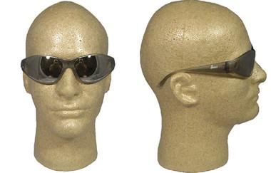 ERB Boas Wraparounds ~ Safety Glasses ~ Silver Mirror
