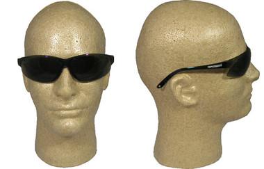 Super ERB ~ Safety Glasses ~ Smoke Lens ~ Blue Frame