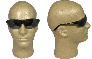 Super ERB ~ Safety Glasses ~ Silver Mirror Lens