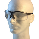 Uvex Genesis Safety Glasses ~ Earth Frame ~ Clear Lens