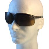 Uvex Genesis Safety Glasses ~ Earth Frame ~ Espresso Lens