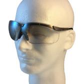 Uvex Genesis Safety Glasses ~ Earth Frame ~ Indoor Outdoor Lens