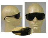 Uvex Astrospec 3000 Glasses ~ Black Frame ~ Smoke Lens