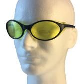 Uvex Bandit Safety Glasses ~ Blue Frame ~ Amber Lens