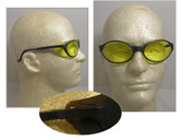 Uvex Bandit Safety Glasses ~ Blue Frame ~ Amber Lens