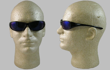 Jackson Hellraiser Safety Glasses ~ Blue Mirror Lens