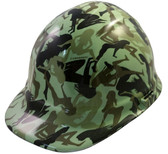 Bootie Girl Light Green Hydro Dipped Hard Hats Cap Style