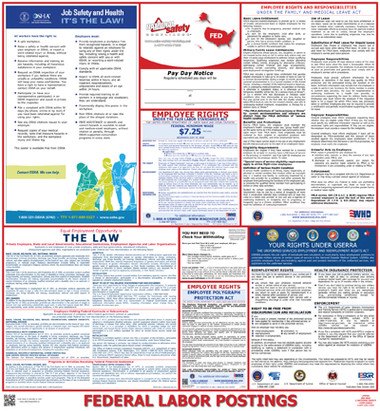 Federal Labor Law Posters  pic 1