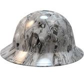 POW Gray Hydro Dipped Full Brim Hard Hats pic 1