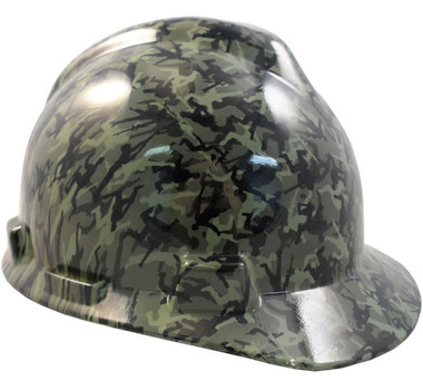 Hydro Dipped Hard Hats Army Men Green Small Size Hard Hat pic 1
