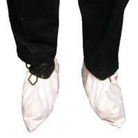 DuPont TYVEK White Shoe Covers (10 SAMPLE PACK)  pic 3