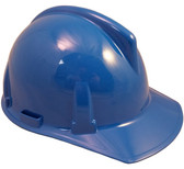 MSA Topgard Protective Caps ~ Blue  ~ Right Side View