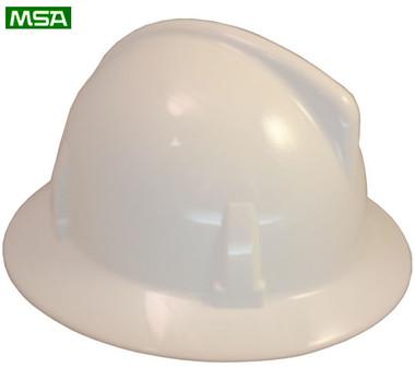 MSA Topgard  ~ White ~ Right Side View
