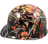 Wildfire Camo Hydro Dipped Hard Hats Cap Style
