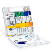 OSHA Compliant First Aid Kits ~ 50 Person, 196 Piece Bulk Kit, Plastic Case